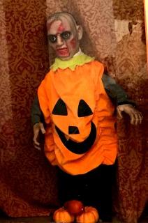 pumpkin zombie